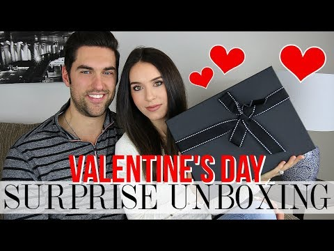 SURPRISE VALENTINE'S DAY UNBOXING!!!  Omg I love it.