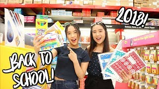 BACK TO SCHOOL SUPPLIES SHOPPING 2018 + Giveaway!