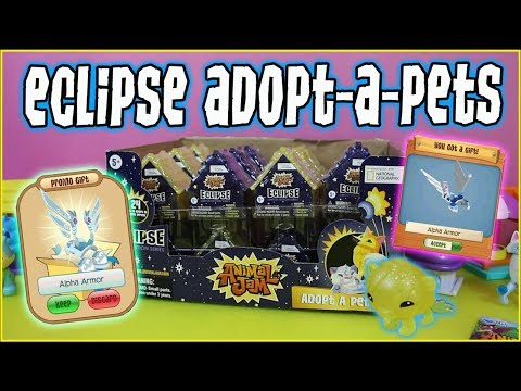 Animal Jam Eclipse Case Unboxing - Adopt-A-Pets + Alpha Armor in Play Wild!