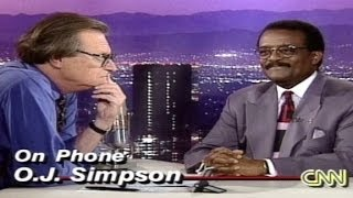 (RAW) 1995: O.J. Simpson calls CNN day after verdict