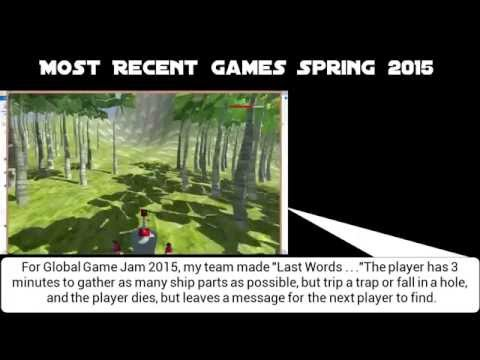 All Games Project/Jam   Fall 2013 - Spring 2015