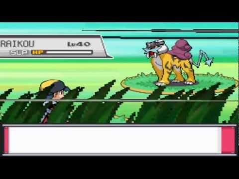 Pokemon Heart Gold Extras: Entei and Raikou