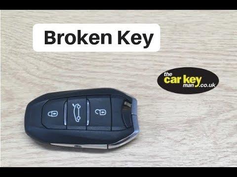 Citroen Picasso 2014 Fix Broken Car key