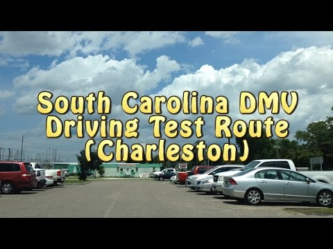 South Carolina Driving Test Route - Charleston DMV