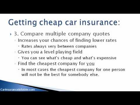 (Car Insurance Quotes Florida) - How To Find A Cheap Quote