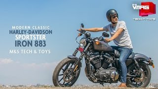 Riding Harley-Davidson in Kathmandu | Sportster Iron 883 | M&S TECH & TOYS | M&S VMAG