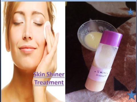 How to make face look shiny naturally / Skin Shiner Treatment /Stay Beautiful With Anky