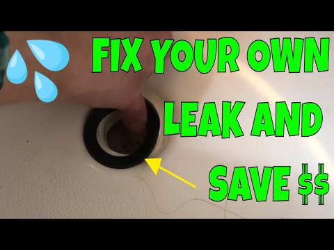 How To Replace Bathtub Drain Shoe Gasket