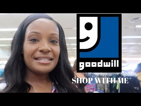 SHOP  WITH ME / GOODWILL