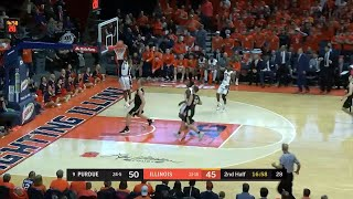Leron Black Slams it In vs. Purdue