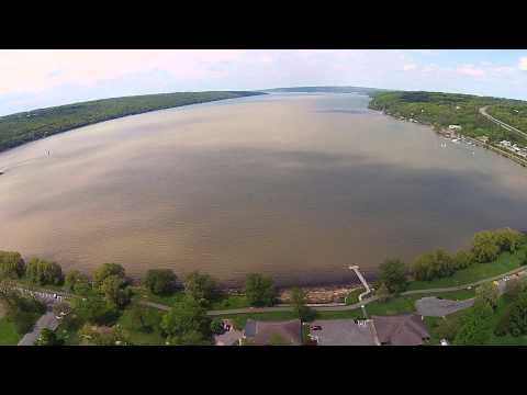 Ithaca Aerial View - May 19th, 2014