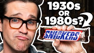 100 Years Of Candy Taste Test