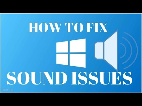 How to Fix Sound Problems on Windows 10(2017)
