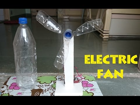 How to Make an Electric Table Fan using Bottle - Easy Way
