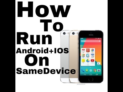 How to run Android on iPhone.NO JAILBREAK