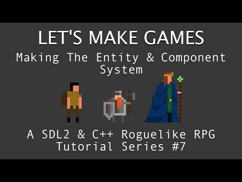 How To Make A Game #7 : Entity Component System in C++ & SDL2 Tutorial