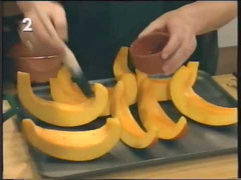 Delia Smith's Roasted Pumpkin Soup with Cream