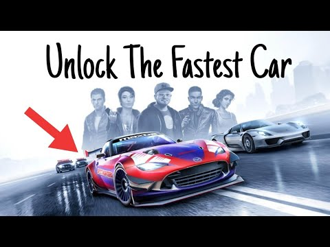 NFS UNLOCK The Fastest Car ! Need For Speed No Limits
