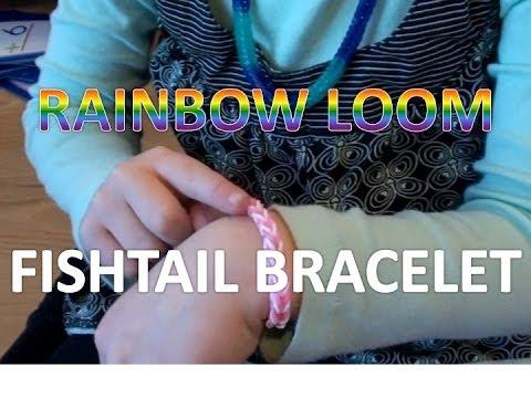 Rainbow Loom Fishtail - How to Make a Bracelet