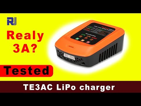 Ho to use TE3AC LiPo Battery Charger (Test and Review)