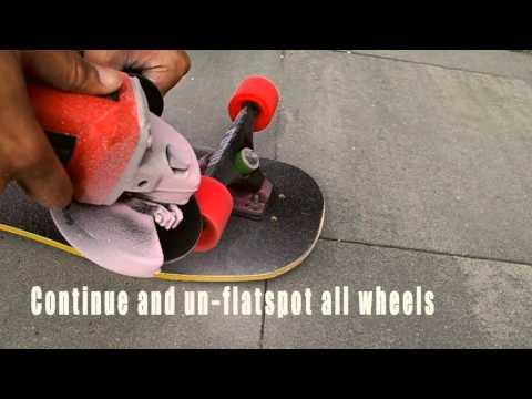 How to: Un-flatspot wheels