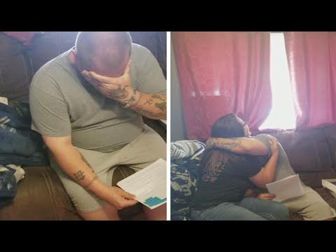 Girl Surprises Stepdad With Adoption Papers