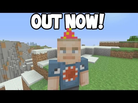 Minecraft Xbox - NEW 5th/All Birthday Skins OUT NOW!!