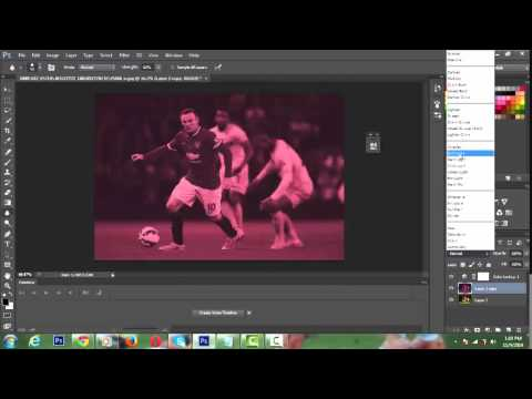 How to edit a football player picture