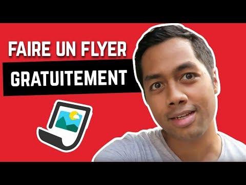 FAIRE UN FLYER DE QUALITÉ GRATUITEMENT - LOCATION COURTE DUREE