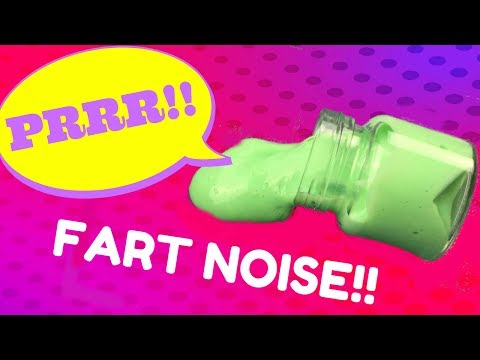 HOW TO MAKE FLARP SLIME WITHOUT BORAX!!🚽😂DIY SLIME THAT FARTS!!!!🚽😂 H