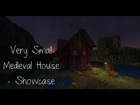 Minecraft - Very Small Medieval Home