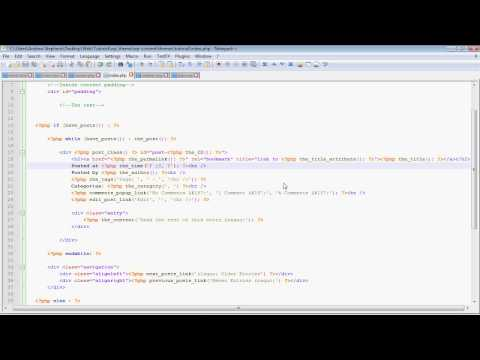 WordPress Theme Tutorial: Part 2 - Homepage and Functions