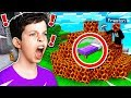 TROLLING MY LITTLE BROTHER IN MINECRAFT BED WARS MCPE