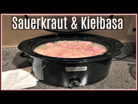 Cook With The Ginger Family!   Kielbasa & Sauerkraut