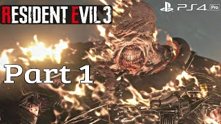 Resident Evil 3 Remake - Full Game Walkthrough Hardcore Difficulty (RE3 Remake 2020) PS4 Pro