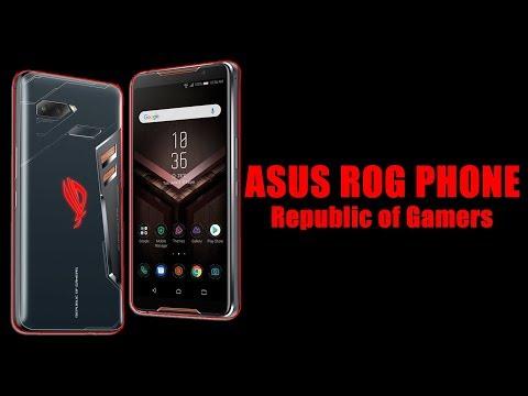 ASUS ROG PHONE - PRESENTACIÓN EN TAIWAN