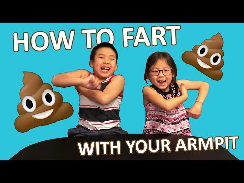 How to Make Fart Noise Using Your Armpit