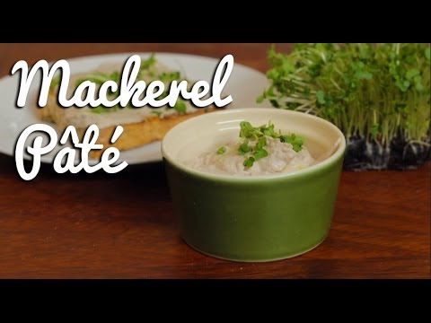 Home-made Mackerel Pâté - Crumbs