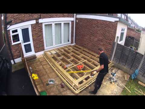 How to Install Decking (time lapse)