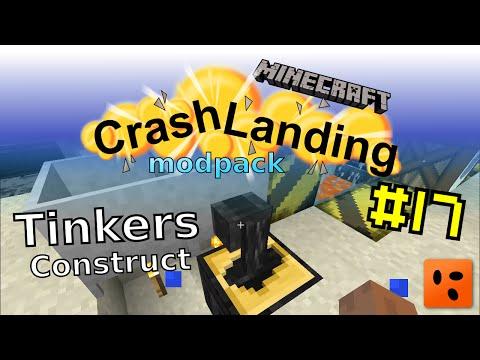 Minecraft – Crash Landing #17 - Tinkers Construct