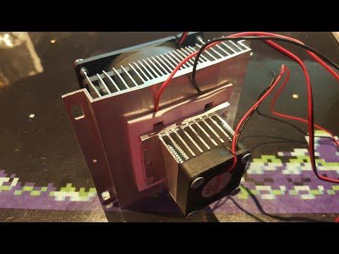 Testing a pre-built Geekcreit TEC1-12705 peltier cooler/heater