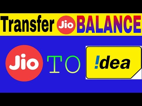 Jio balance transfer in IDEA sim. 100%work.jio user have extra benefit (must watch)