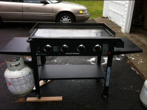 Blackstone Griddle unboxing and assembly