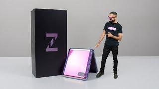 Samsung Galaxy Z Flip UNBOXING