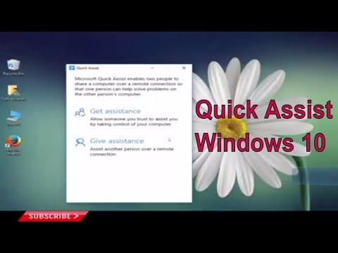 How to Remotely Troubleshoot a Friend PC Using Windows 10 Quick Assist Feature