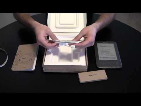 Unboxing:  Amazon Kindle Wi-Fi 3rd Generation