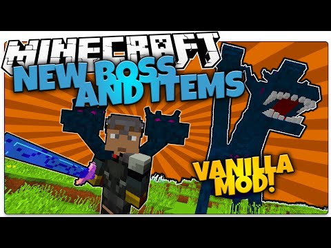 Minecraft | NEW HYDRA BOSS MOB! | Custom Weapons And Armor (Minecraft Vanilla Mod)