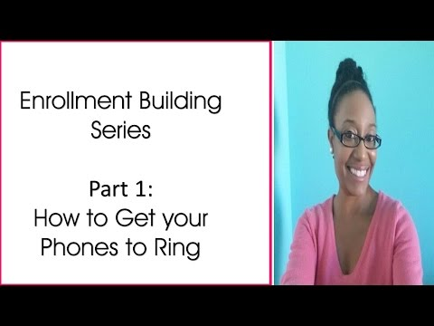 How to start a Daycare Business  Getting your Phones to Ring Part 1