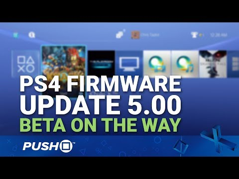PS4 Firmware Update 5.00 Beta on the Way | PlayStation 4 | News