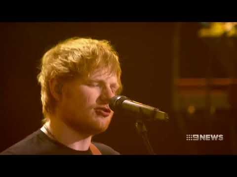 Ed Sheeran in Perth | 9 News Perth